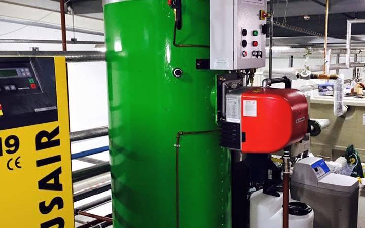 large green boiler